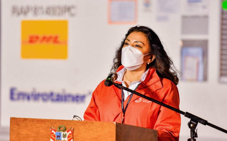 Violeta Bermúdez, presidenta del Consejo de Ministros (Foto: PCM).