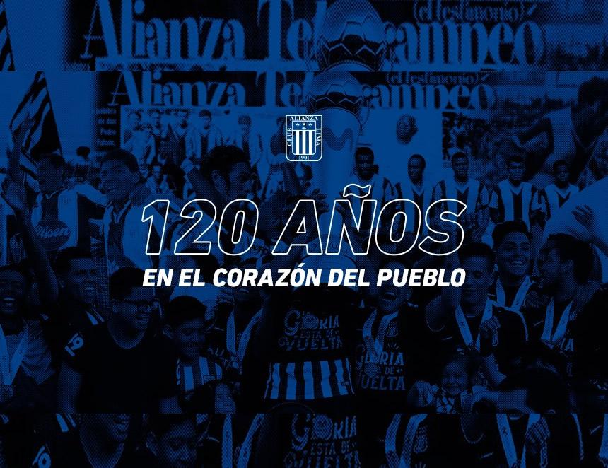 Alianza Lima, 120 años de historia (Imágen: Facebook).