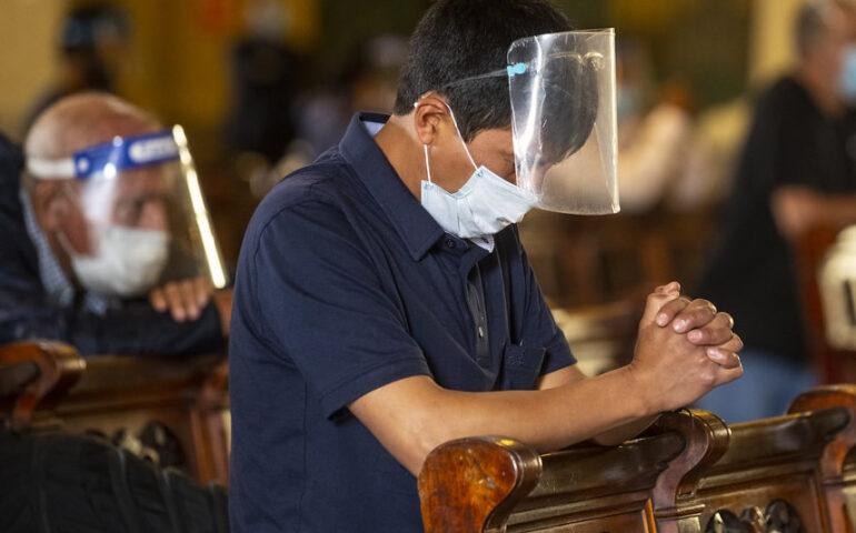 Semana Santa en aislamiento (Foto: Catedral de Lima).