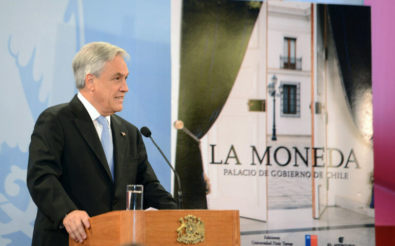 Presidente Sebastian Piñera (Foto: Presidencia de Chile).