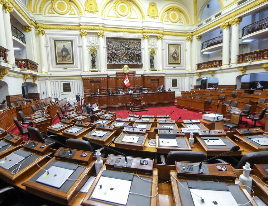 Sesión del Congreso (Foto: Congreso de la República).