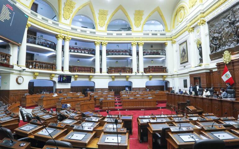Comenzó en comisiones el debate de ley que propone modificar la Ley de Organizaciones Políticas sobre elecciones primarias (Foto: Congreso Perú)-