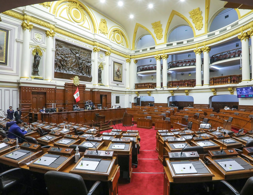 Pleno del Congreso en dìa sàbado (Foto: Congreso de la República)