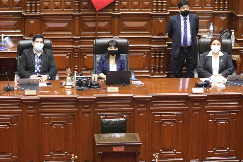 Sesión de Pleno (Foto: Congreso de la República).