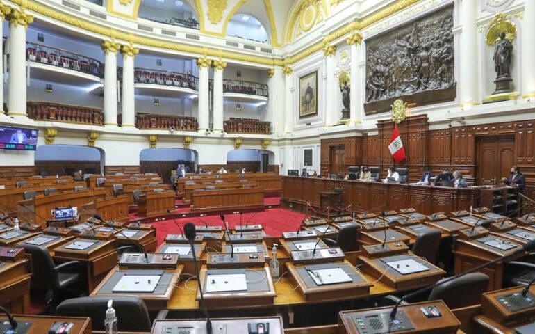 Congreso aprueba moción de extrañeza (Foto: Congreso de la Repùblica).
