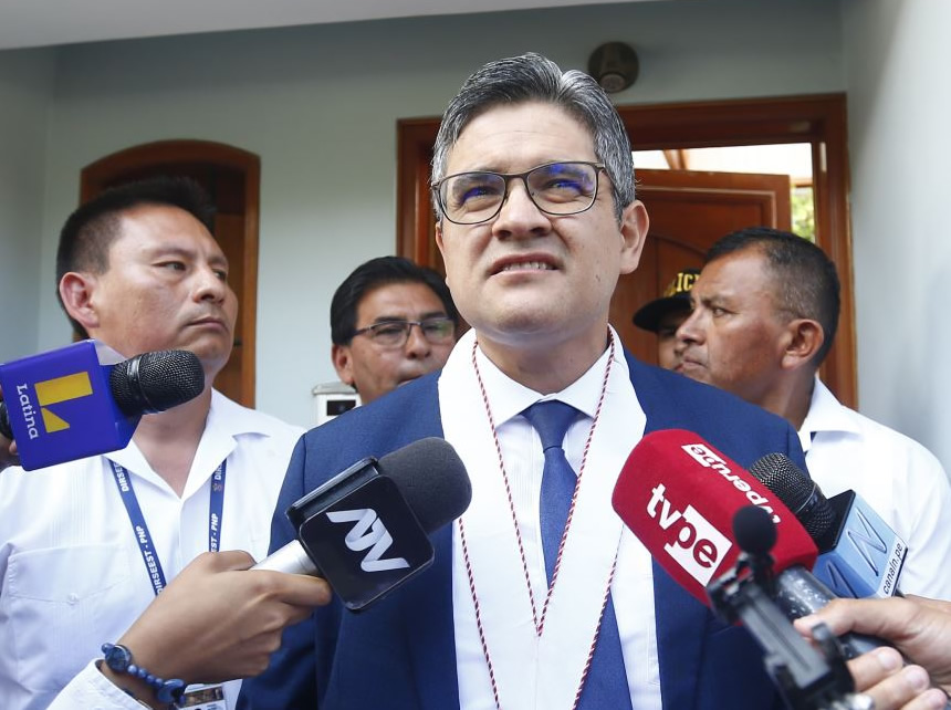 José Domingo Pérez (Foto: Ministerio Público).