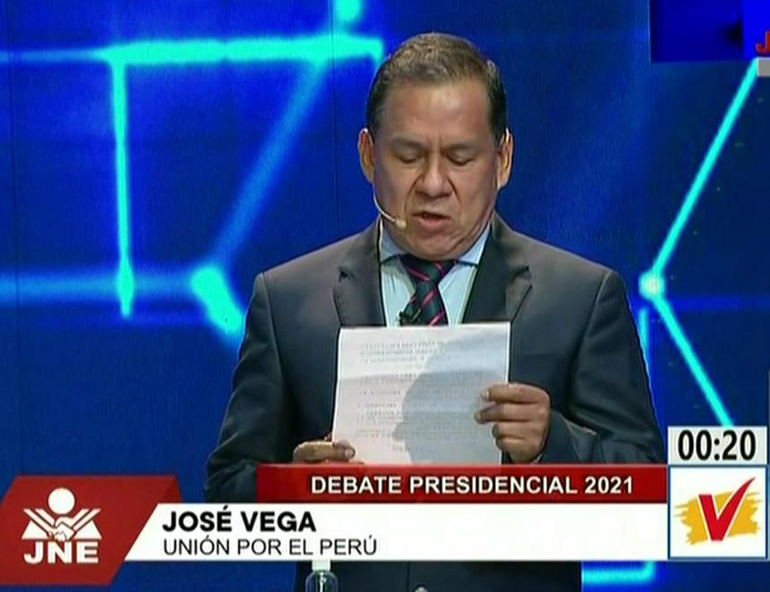 José Vega Antonio (Captura JNE TV).