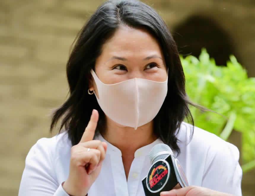 Keiko Fujimori (Foto: Keiko Fujimori cuenta Facebook).