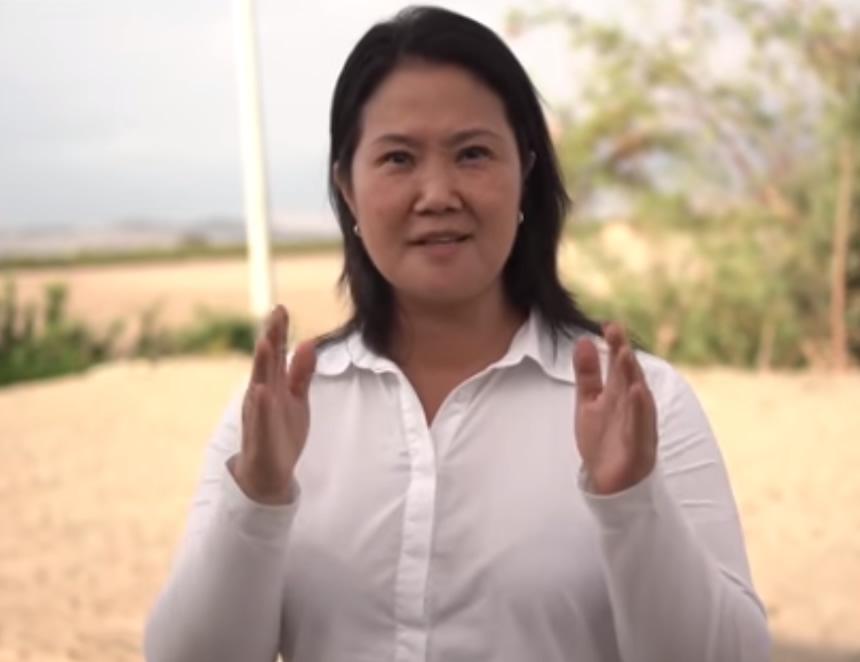 Keiko contesta al fiscal Pérez (Captgurfa video).