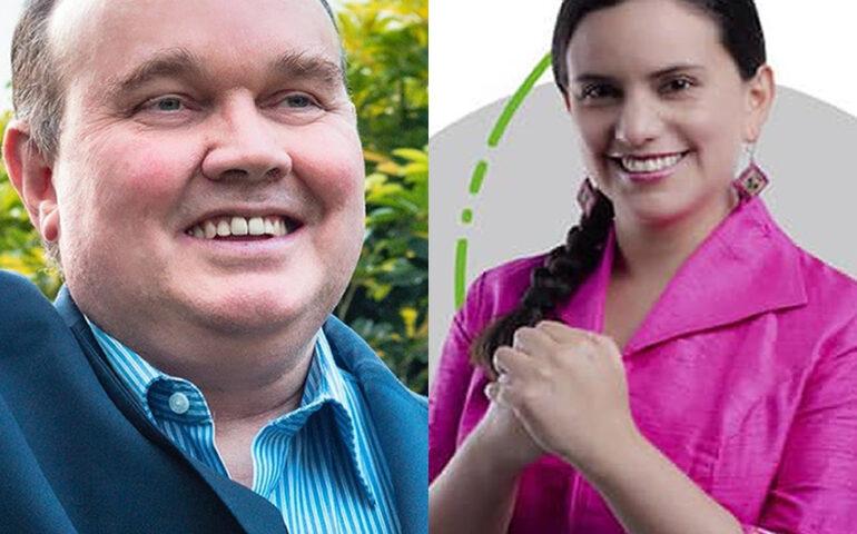 López Aliaga y Verónika Mendoza a punto de alcvanzar en el primer lugar a Lescano (Foto composición: agendapais.com).