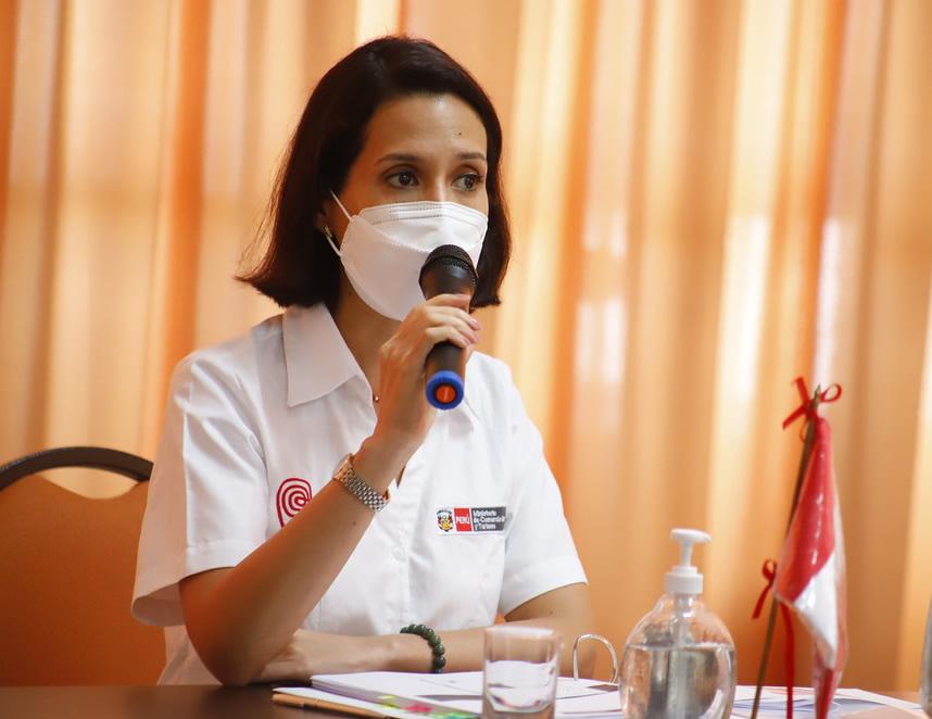 Ministra Claudia Cornejo ( (Foto: Mincetur)