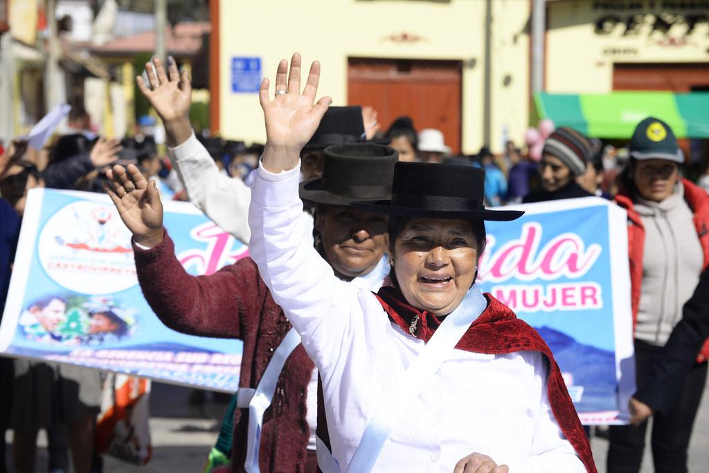 El 50,4% de la población peruana es femenina