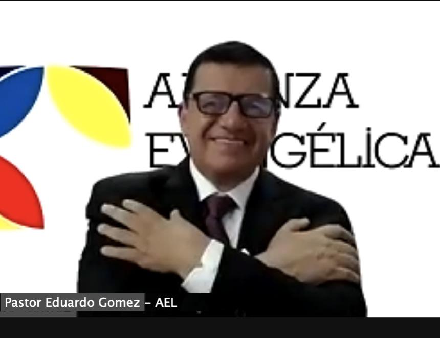 Pastor Eduardo Gómez, directivo de la Alianza Evangélica Latina (Foto: OEA).