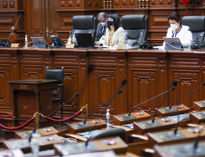 Pleno desoye observación del Ejecutivo y elimina por insistencia el CAS (Foto: Congreso de la República).