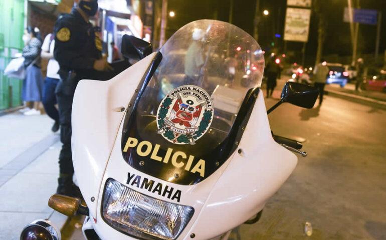 Toque de queda continuará en Lima Metropolitana de 9:00 pm a 4.00 pm. (Foto: Mininter).