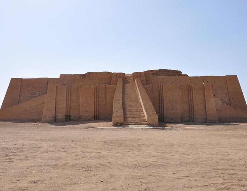 Sitio arqueológico de Ur, declarado Patrimonio Mixto de la Humanidad (Foto: UNESCO).