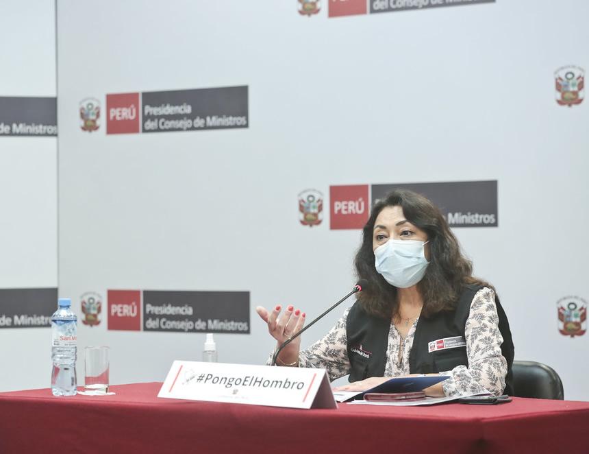 Violeta Bermúdez (Foto: PCM).