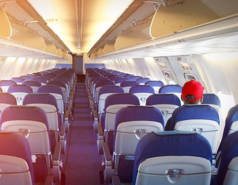 La capacidad de asientos del sector de la aviación civil ha caído a niveles de 2003 (_Foto: OACI).