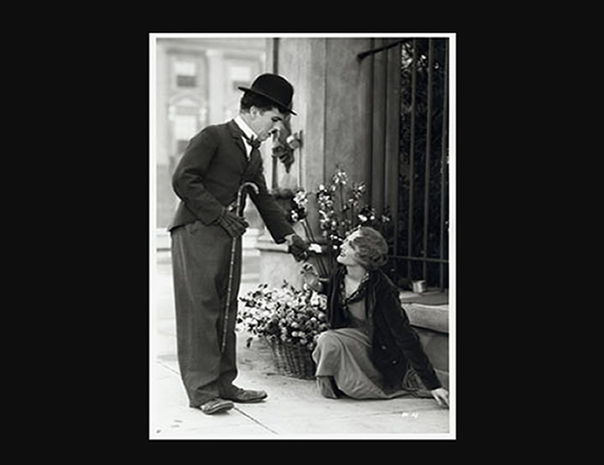 Charles Chaplin (Foto: Internet).