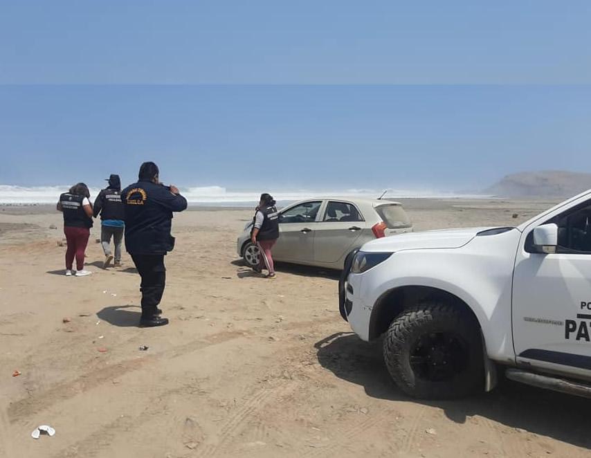 Playa de Chilca (Foto: Municipalidad de Chilca).
