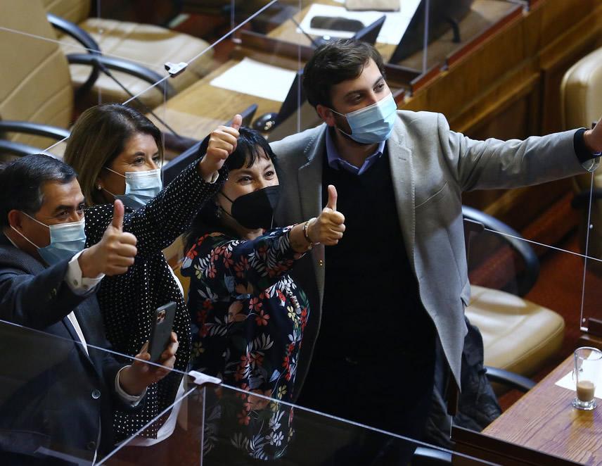 La Cámara de Diputados de Chile aprobó el proyecto de ley que permite inscribir en primer lugar el apellido de la madre (Foto: Cámara de Diputados de Chile)..