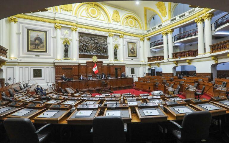 Curules esperan a sus nuevos inquiloinos (Foto: Congreso de la República).