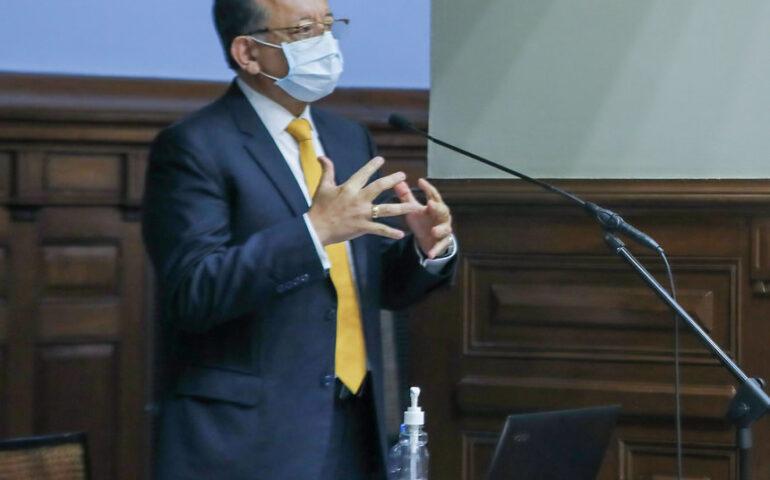 Edgar Alarcón (Foto: Congreso de la República).