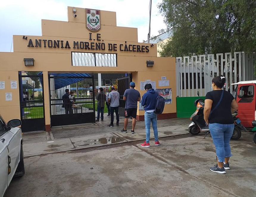 Los peruanos renovamos hoy el Gobierno, Congreso y Parlamento Andino (Foto: ONPE).