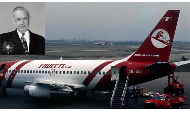 Elmer Faucett: el peruano por adopción que hizo historia en la aviación peruana