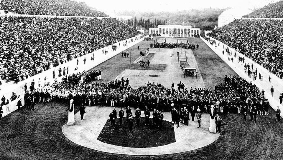 Estadio Panathinaikó, sede de los primeros Juegos Olìmpicos (Foto internet).