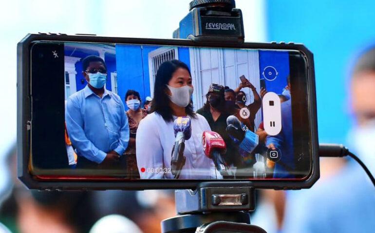 Keiko Fujimori (Foto: Facebook cuenta Keiko Fujimori).