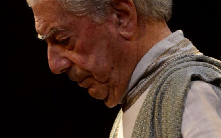 Mario Vargas Llosa (Foto publicada por la agencia andina).