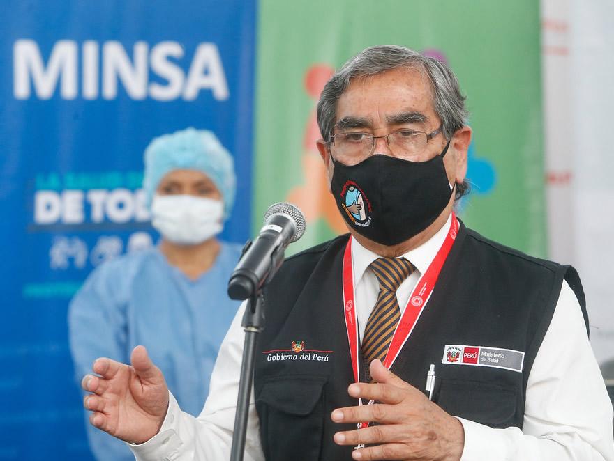 La inmunización territorial contra la covid 19 a adultos mayores de 80 años se realizará en varios distritos de Lima (Foto: Minsa).