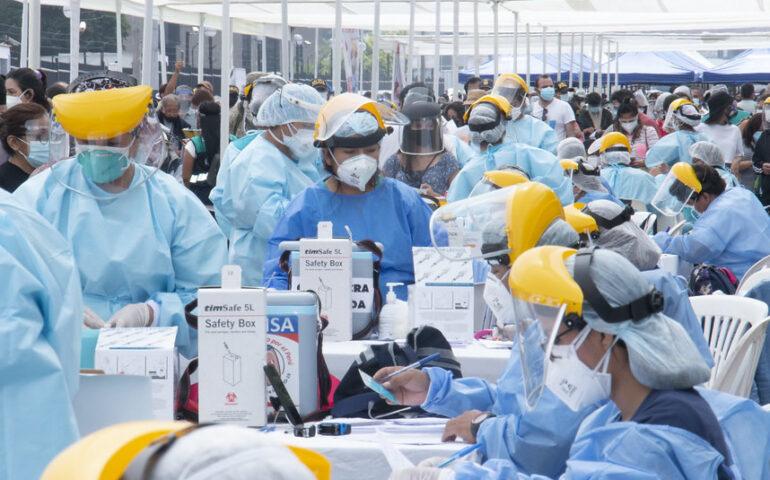 La cifra de fallecidos más alta en lo que va de la pandemia se registró este último fin de semana en Perú (Foto: Minsa).