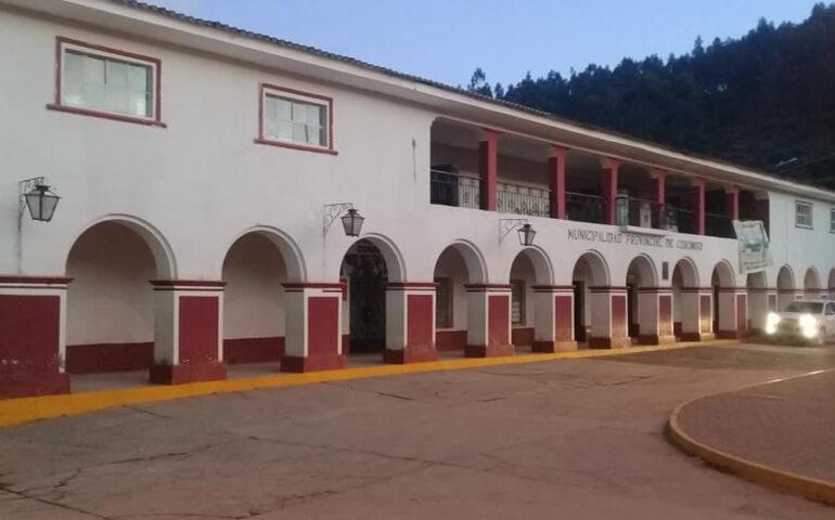 Sede de la Municipalidad Provincial de Corongo (Foto: Municipalidad de Coprongo).