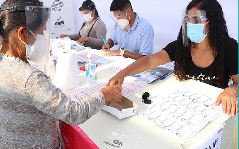 Vence el plazo de registro de miembros de mesa (Foto: ONPE).