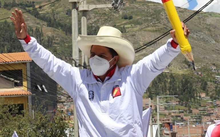 Pedro Castillo (Foto: Cuenta Facebook).