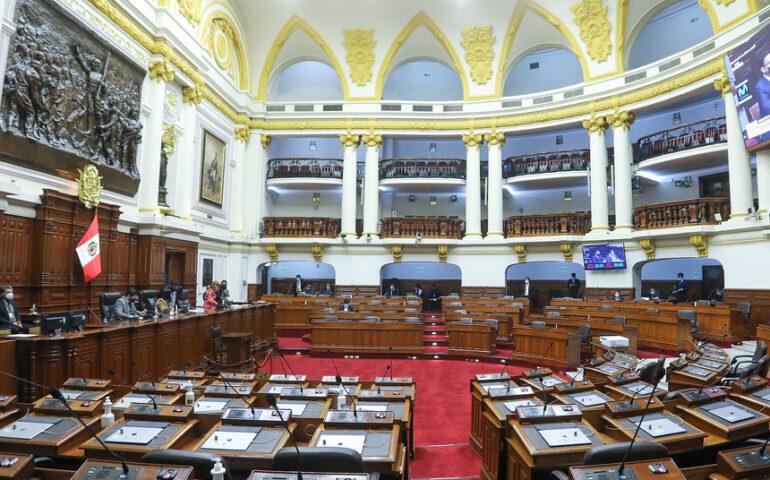 Congreso tienen intención de sesionar el sábado para inhabilitar a Vizcarra (Foto: Congreso de la República).