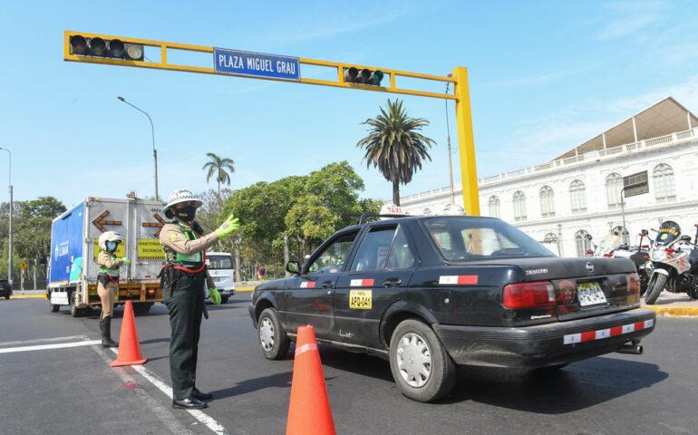 Lima y Callao vuelven a la inmovilización los domingos (Foto: Mininter).