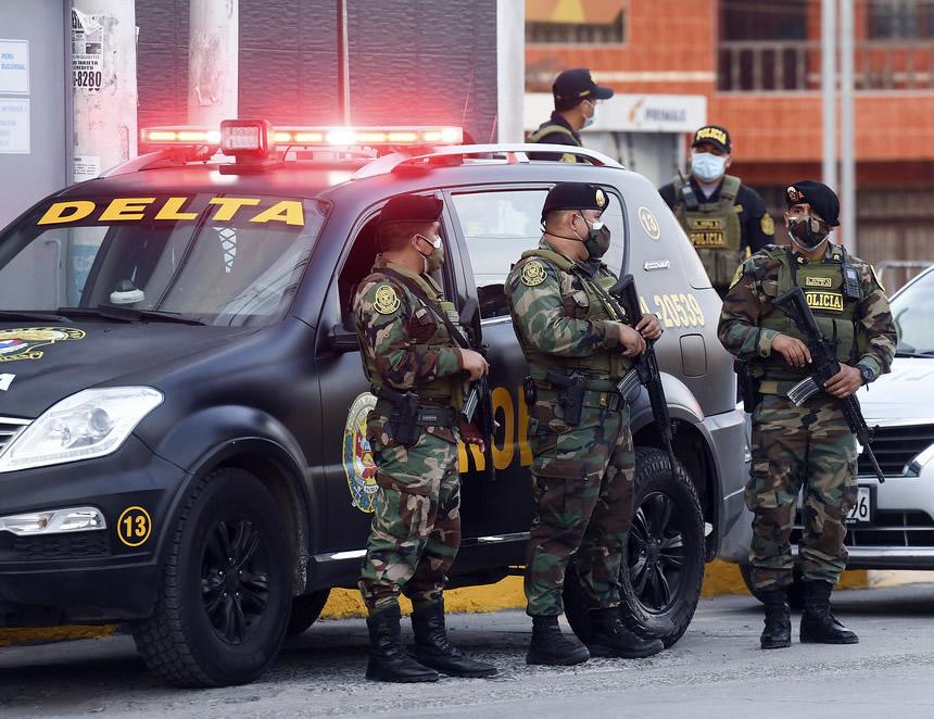 Policía despliega 96 mil agentes para el resguardo de la jornada electoral (Foto: Mininter).