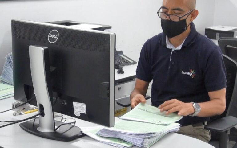 Registrador de Sunardp (Foto: Sunarp).