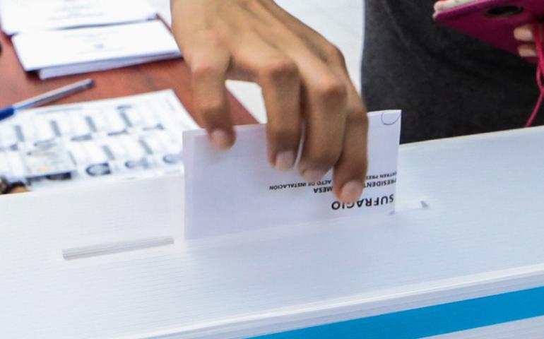 Las últimas encuestas publicables a una semana de las elecciones (Foto: ONPE).