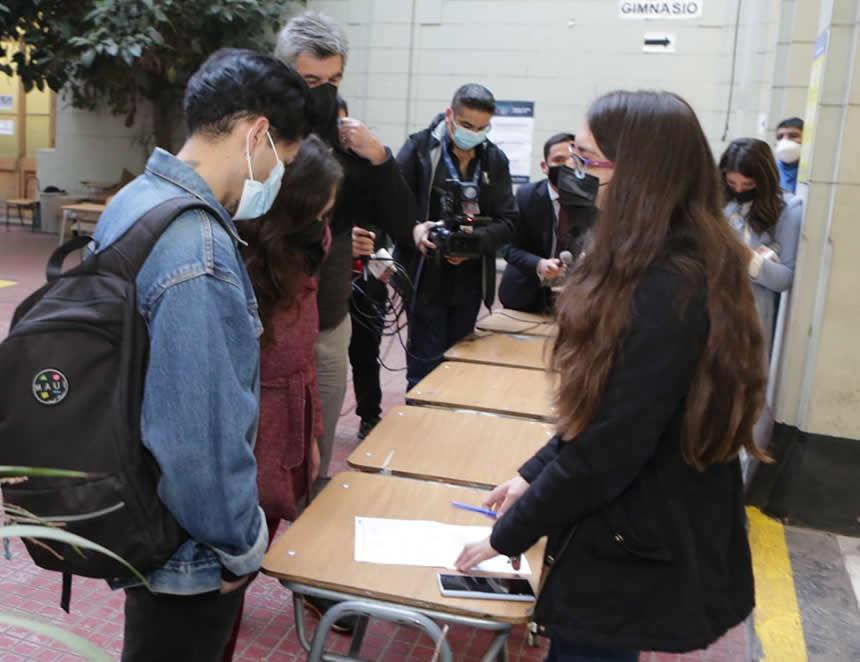 Foto: Servicio Electoral de Chile