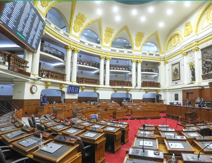 Pleno rechaza debate de mociones de censura contra Mesa Directiva y presidente de la República (Foto: Congreso de la República)