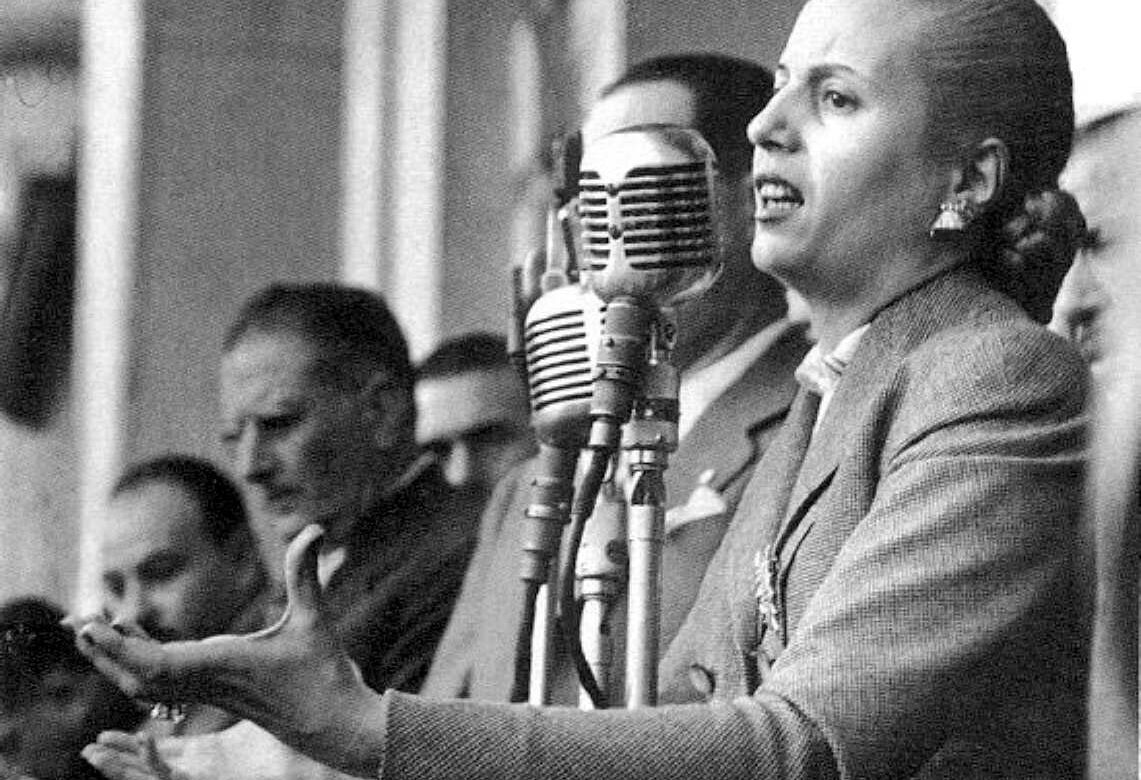 Evita Perón (Foto: mujeresbacanas.com)