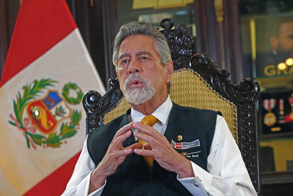Presidente Francisco Sagasti (Foto: Presidencia de la Repùblica).