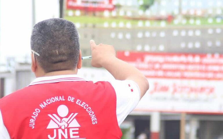 El JNE negó hoy que haya permitido que personas vinculadas al MOVADEF (Foto: JNE).