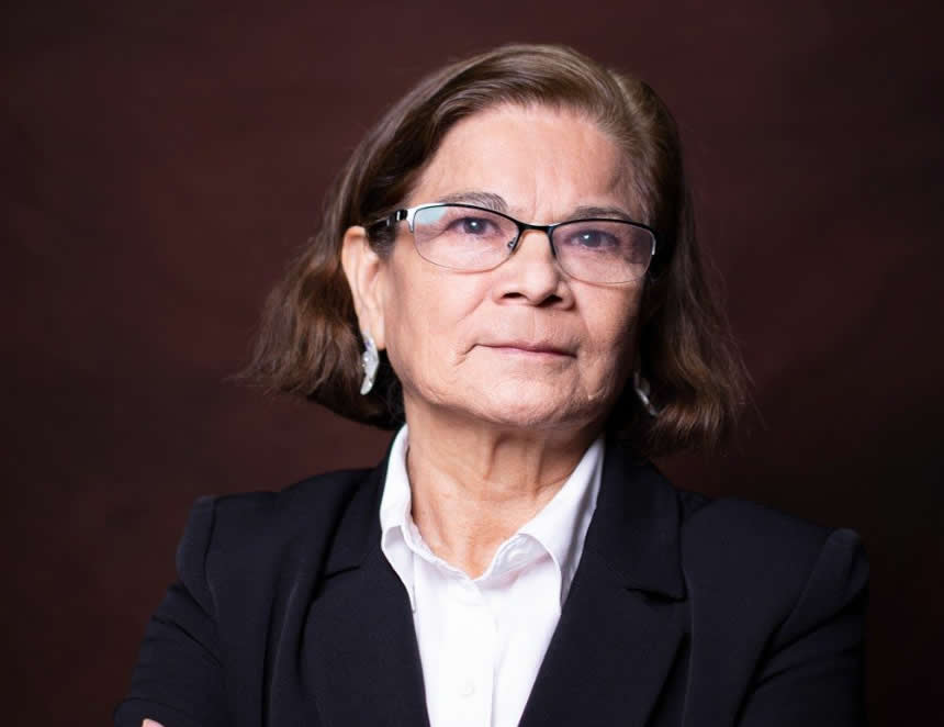 Jeri Ramon, candidata a rectora en la UNMSM (Foto: Facebook).