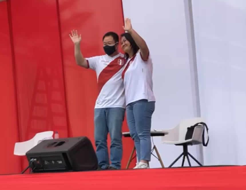 Keiko Fujimori tuvo reencuentro con Kenji
