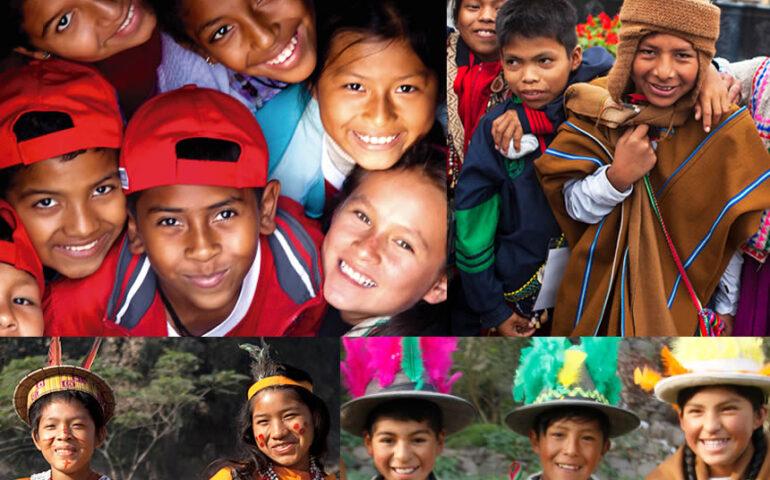 Imagen sobre lenguas originarias (Foto: Minedu).